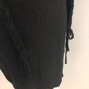 questions Dresses - New turtle neck black sweater dress size S